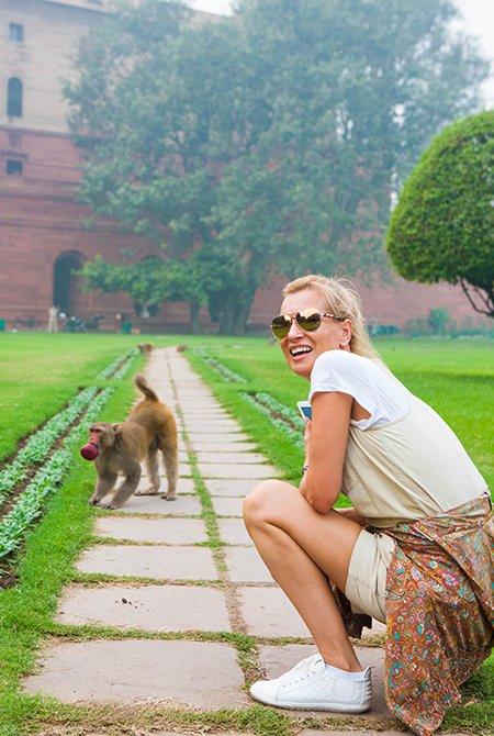 Олеся Судзиловская, Анна Исаева и другие проводят рабочие каникулы в Индии - Фото №3