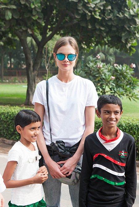 Олеся Судзиловская, Анна Исаева и другие проводят рабочие каникулы в Индии - Фото №5