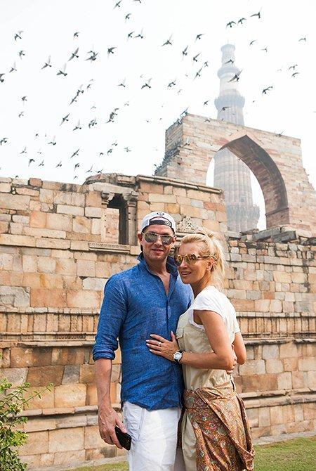 Олеся Судзиловская, Анна Исаева и другие проводят рабочие каникулы в Индии - Фото №4