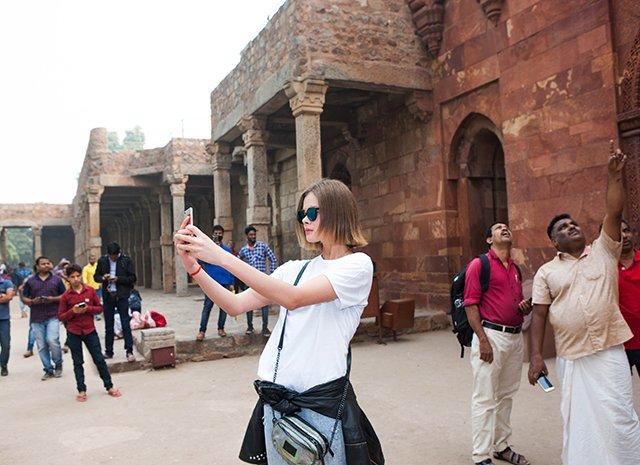 Олеся Судзиловская, Анна Исаева и другие проводят рабочие каникулы в Индии - Фото №9