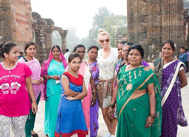 Олеся Судзиловская, Анна Исаева и другие проводят рабочие каникулы в Индии - Фото №10