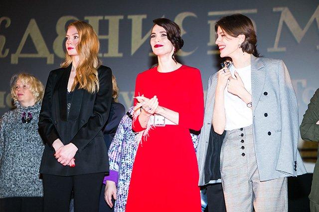 Ходченкова, Снигирь, Чиповская и другие на закрытом показе «Хождение по мукам» - Фото №12