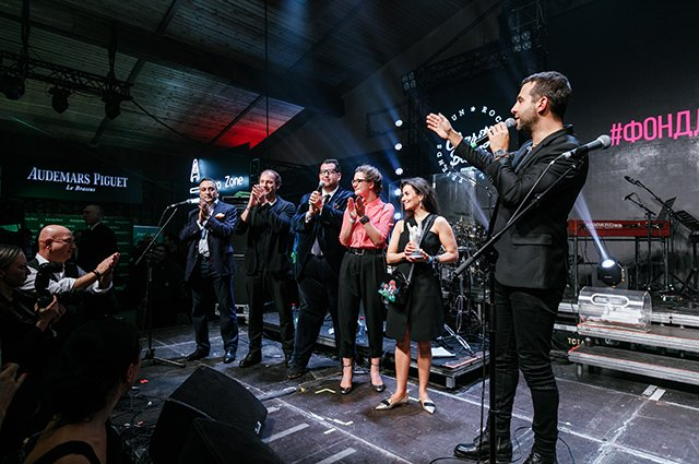 Собчак, Ургант, Киценко и другие на рок-вечеринке - Фото №10