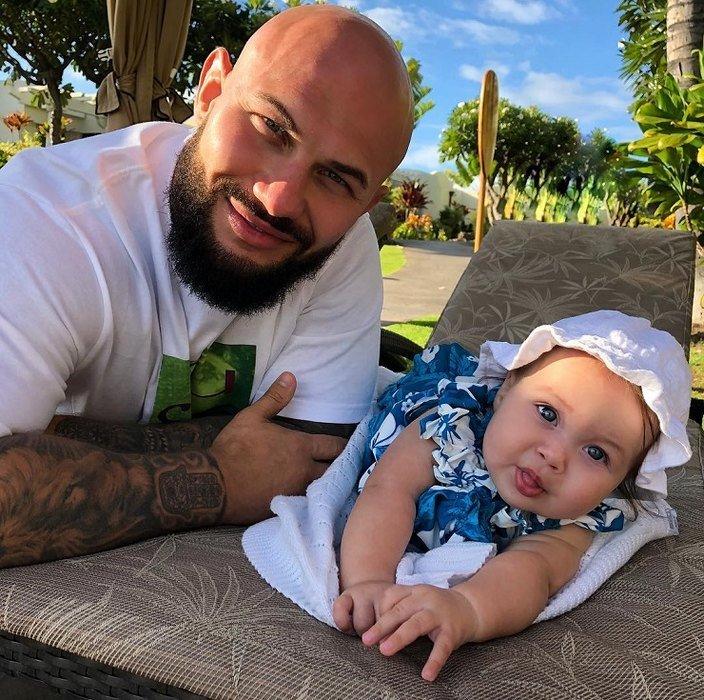 Джиган и Оксана Самойлова показали младшую дочь