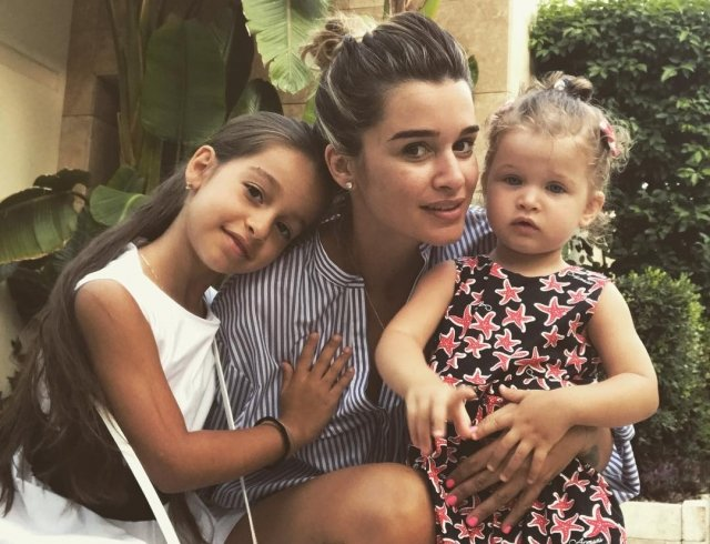 Ксения Бородина позабавила роликом с младшей дочерью
