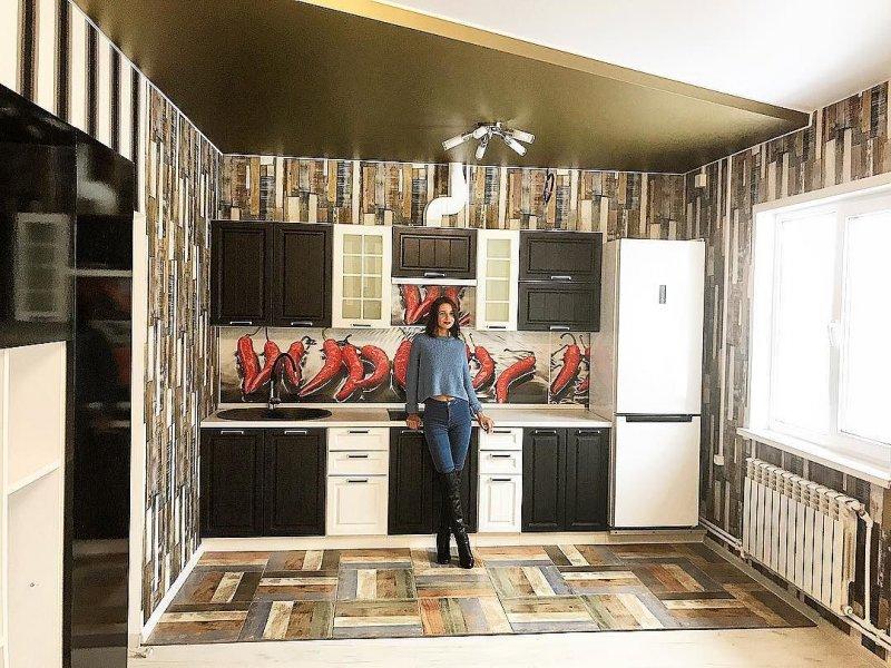 Чуев выложил фото отремонтированной кухни в его с Викой новой квартире