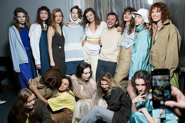 Собчак, Оболенцева и другие на модном показе - Фото №12