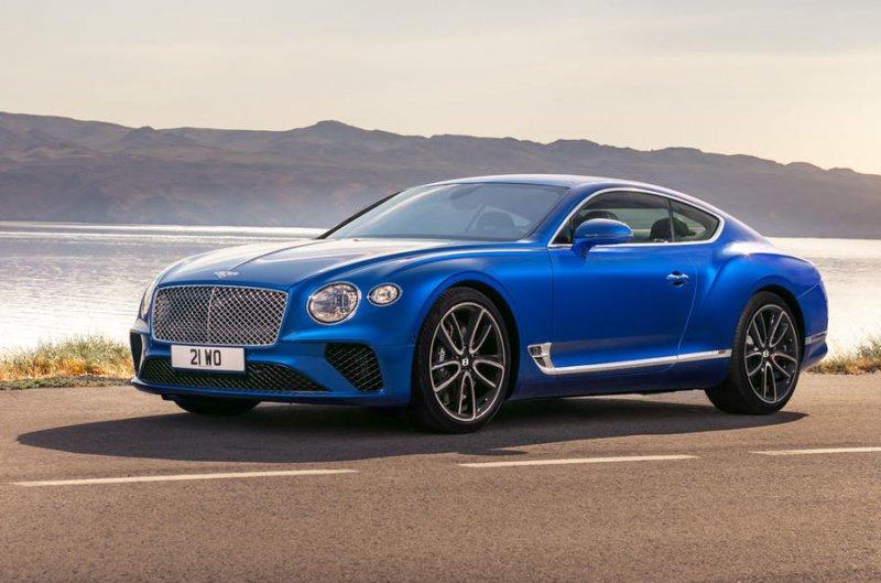 В Санкт-Петербурге у рабочего украли Bentley Continental