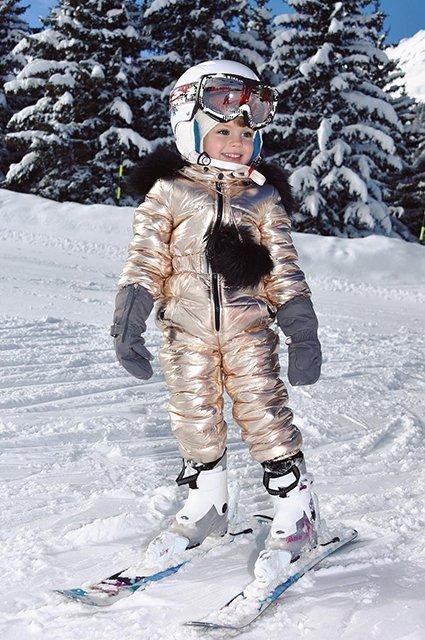 Елена Перминова с супругом и детьми отдыхает в горах - Фото №1
