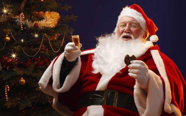 В канун Рождества где-то в США Дед Мороз победил Санта-Клауса