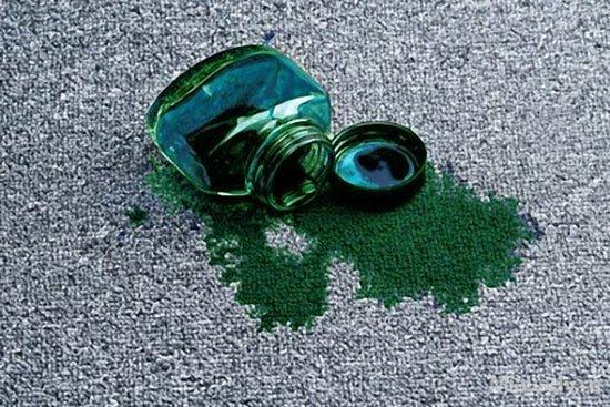 Как эффективно отмыть зелёнку