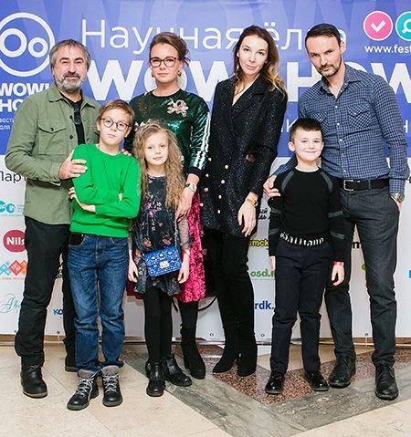 Звёзды и их дети на научной ёлке в Российской академии наук - Фото №9