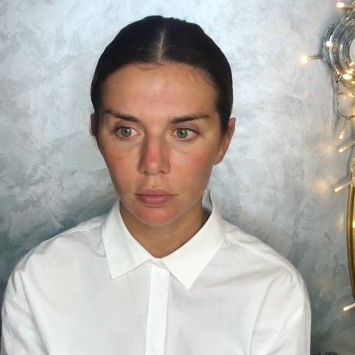 Анна Седокова показала, как превращается из простушки в диву