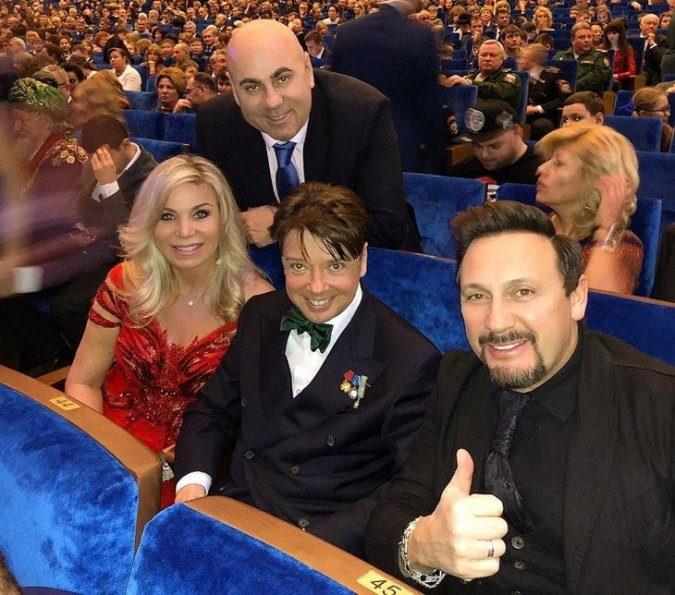 Селебрити на приёме в Кремле - Фото №2