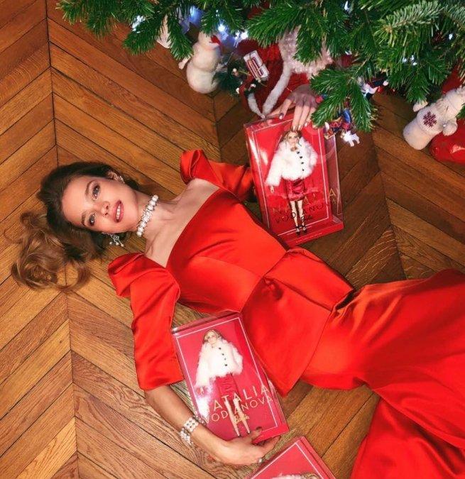 Наталья Водянова готовится встречать Новый год в солнечном Лос-Анжелесе - Фото №4