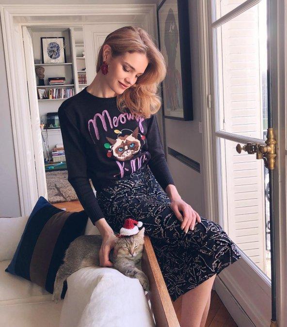 Наталья Водянова готовится встречать Новый год в солнечном Лос-Анжелесе - Фото №6