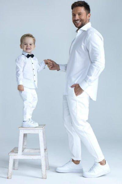 Сергей Лазарев выложил трогательное фото с сыном