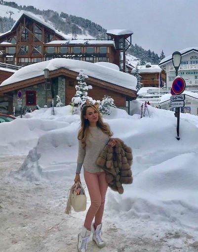Как селебрити проводят зимние каникулы - Фото №3