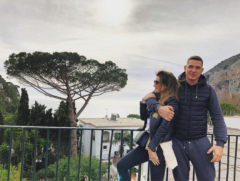 Как Ксения Бородина проводит каникулы в Италии