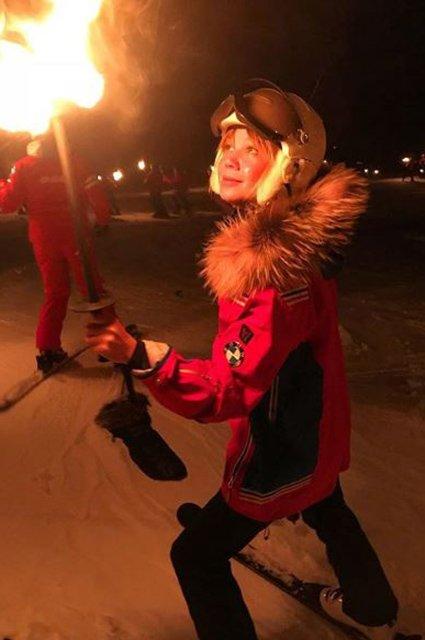 Селебрити, предпочитающие активный отдых на зимних каникулах - Фото №1