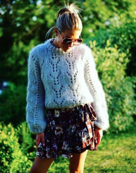 Стильные свитера для тёплой зимы