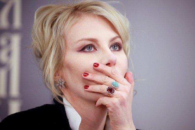 Рената Литвинова провела день рождения с близкими людьми - Фото №5