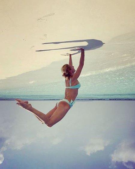 Привет из лета: отечественные знаменитости хвастаются фотографиями из отпуска - Фото №7