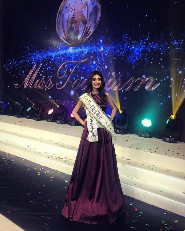 Жительница Перми Дарья Хохлова завоевала титул «мисс бикини мира»
