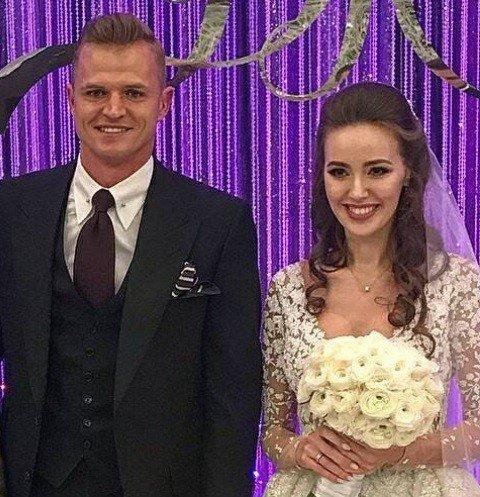 Шикарная свадьба Дмитрия Тарасова и Анастасии Костенко не обошлась без Ольги Бузовой