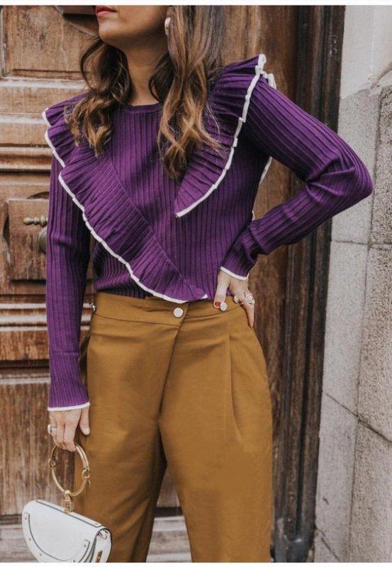 Модный фиолетовый - с чем носить и как комбинировать