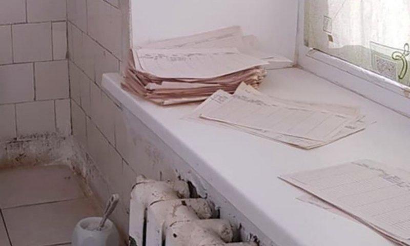 В Пермской больнице диагнозами пациентов заменяли туалетную бумагу