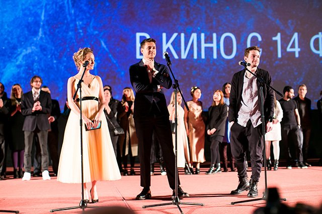 Селебрити на премьере картины «Лёд»