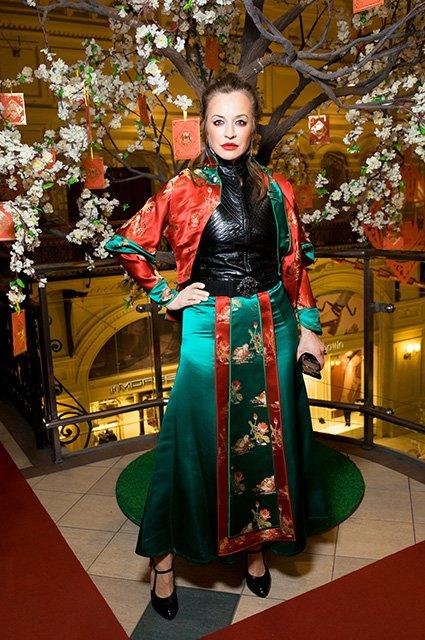 Знаменитости на открытии выставки в честь китайского Нового года в ГУМе - Фото №1