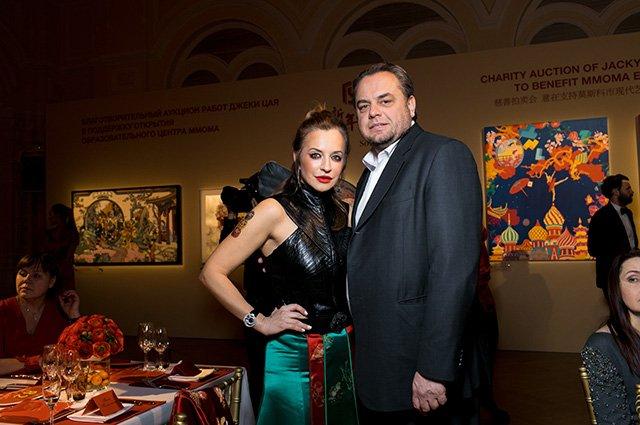 Знаменитости на открытии выставки в честь китайского Нового года в ГУМе - Фото №10