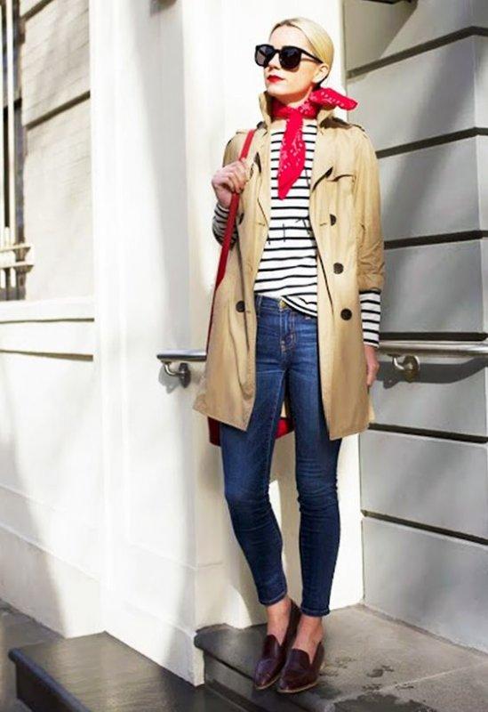 Тренч стал самой востребованной одеждой этой весной