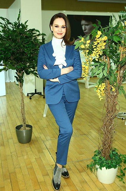 Барановская, Федорова, Ахмадуллина на выставке моды в Москве - Фото №1