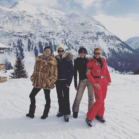 Навка, Орбакайте, Слуцкер отдыхают в Австрии - Фото №2