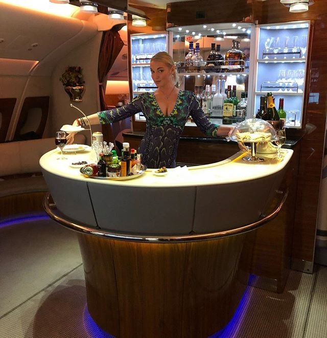 Анастасия Волочкова отдыхает в Арабских Эмиратах