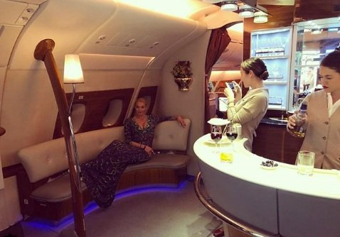Анастасия Волочкова отдыхает в Арабских Эмиратах - Фото №5