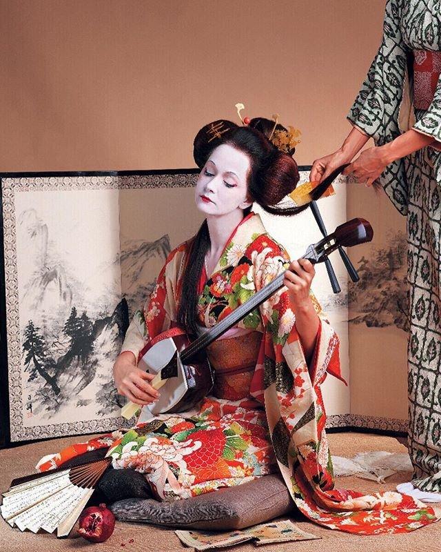 Ольга Кабо в образе гейши восхитила поклонников