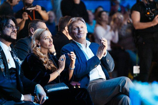 Филипп Киркоров, Татьяна Навка, Дмитрий Песков и другие на концерте Ани Лорак