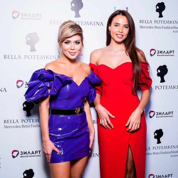 Звёзды на модном показе Bella Potemkina - Фото №8