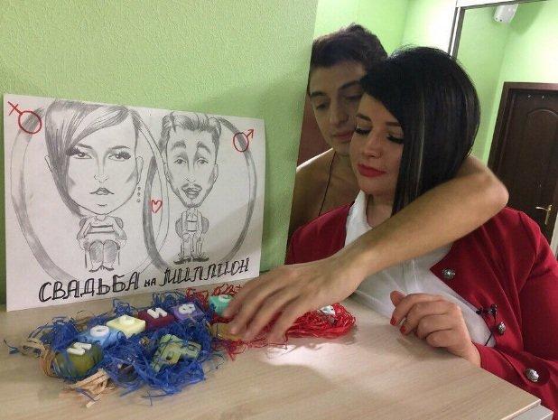 Оганесян и Черно стали главными претендентами на победу в свадебном конкурсе