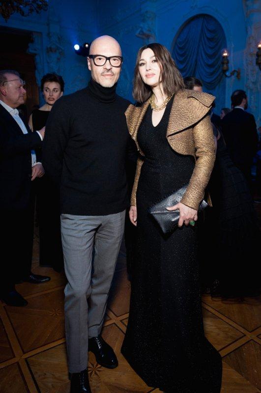 Моника Беллуччи, Федор Бондарчук и другие на вечеринке бренда Cartier