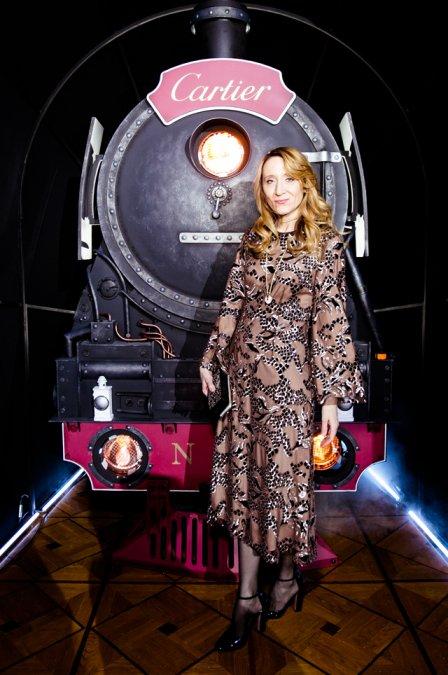 Моника Беллуччи, Федор Бондарчук и другие на вечеринке бренда Cartier - Фото №7