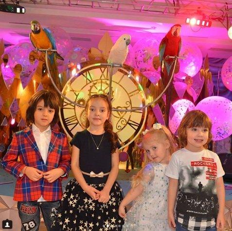 Звезды отметили день рождения дочери Кристины Орбакайте