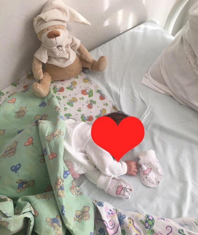 Ольга Рапунцель показала первые фото своей малышки