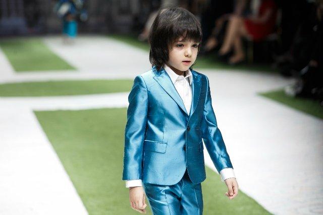 Звёздные наследники на модном шоу Аллы Вербер - Фото №13