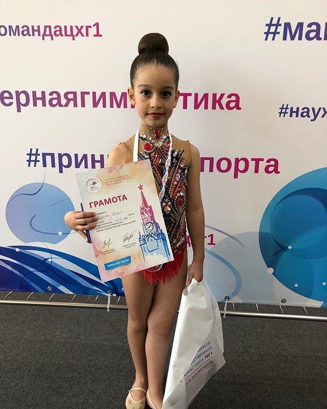Ксения Бородина похвасталась успехами дочери в гимнастике