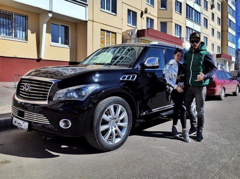 Салибековы похвастались покупкой нового авто